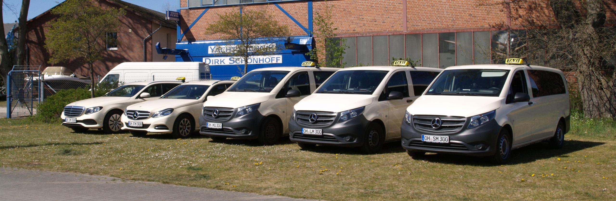Fahrzeugflotte Taxi Müller